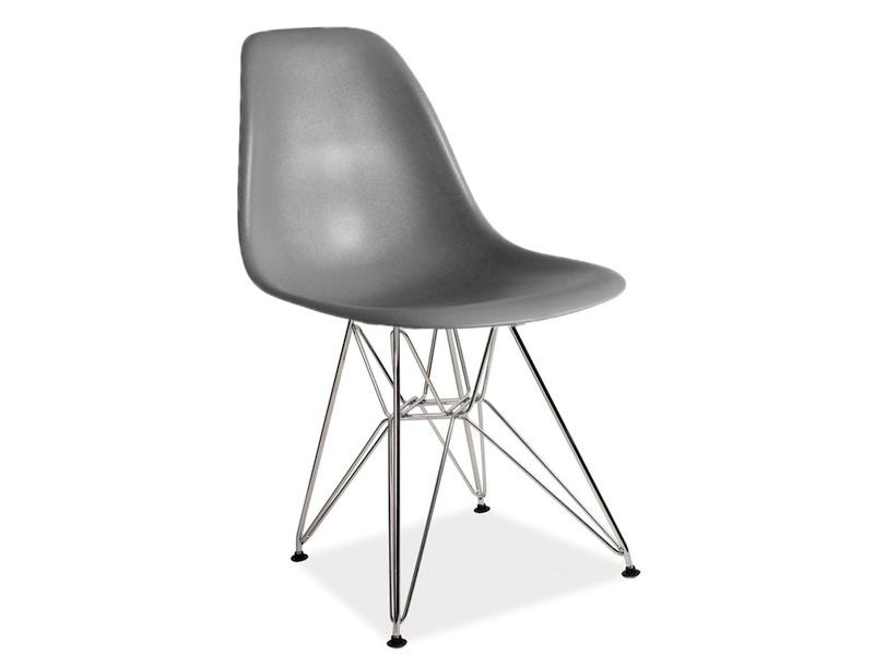 LENO stolička, šedá