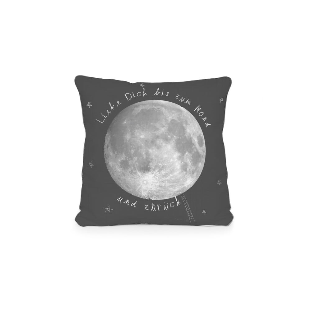 Obojstranná obliečka na vankúš z mikrovlákna Really Nice Things Moon, 45 x 45 cm