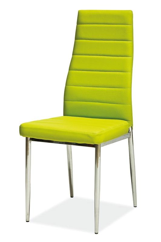 SIGNAL H-261 jedálenská stolička - zelená