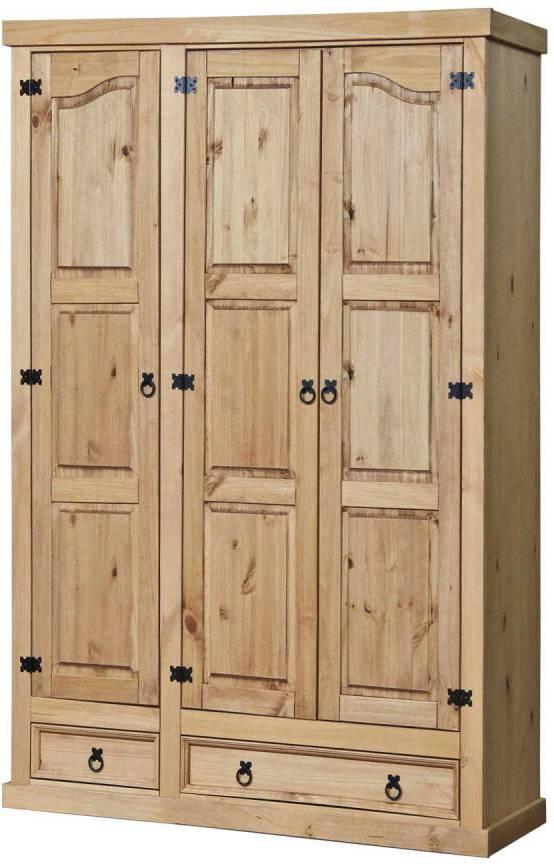 Skriňa 3 dverová CORONA vosk
