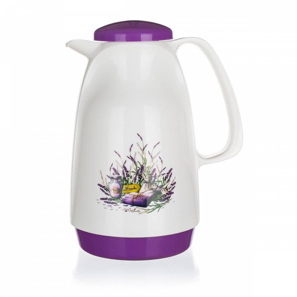 Lavender Plastová termoska 0,95 l,