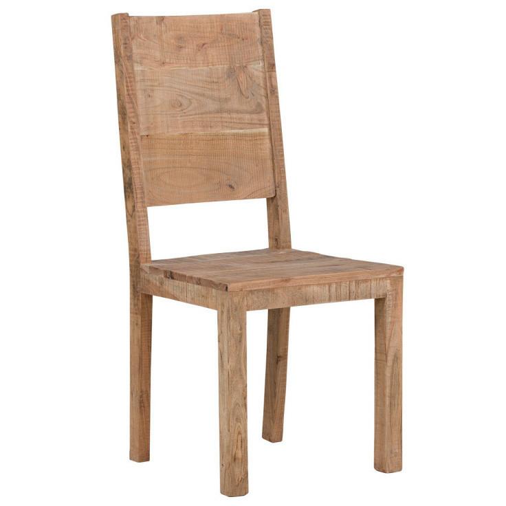 Jedálenská stolička z akáciového dreva SOB Alaska