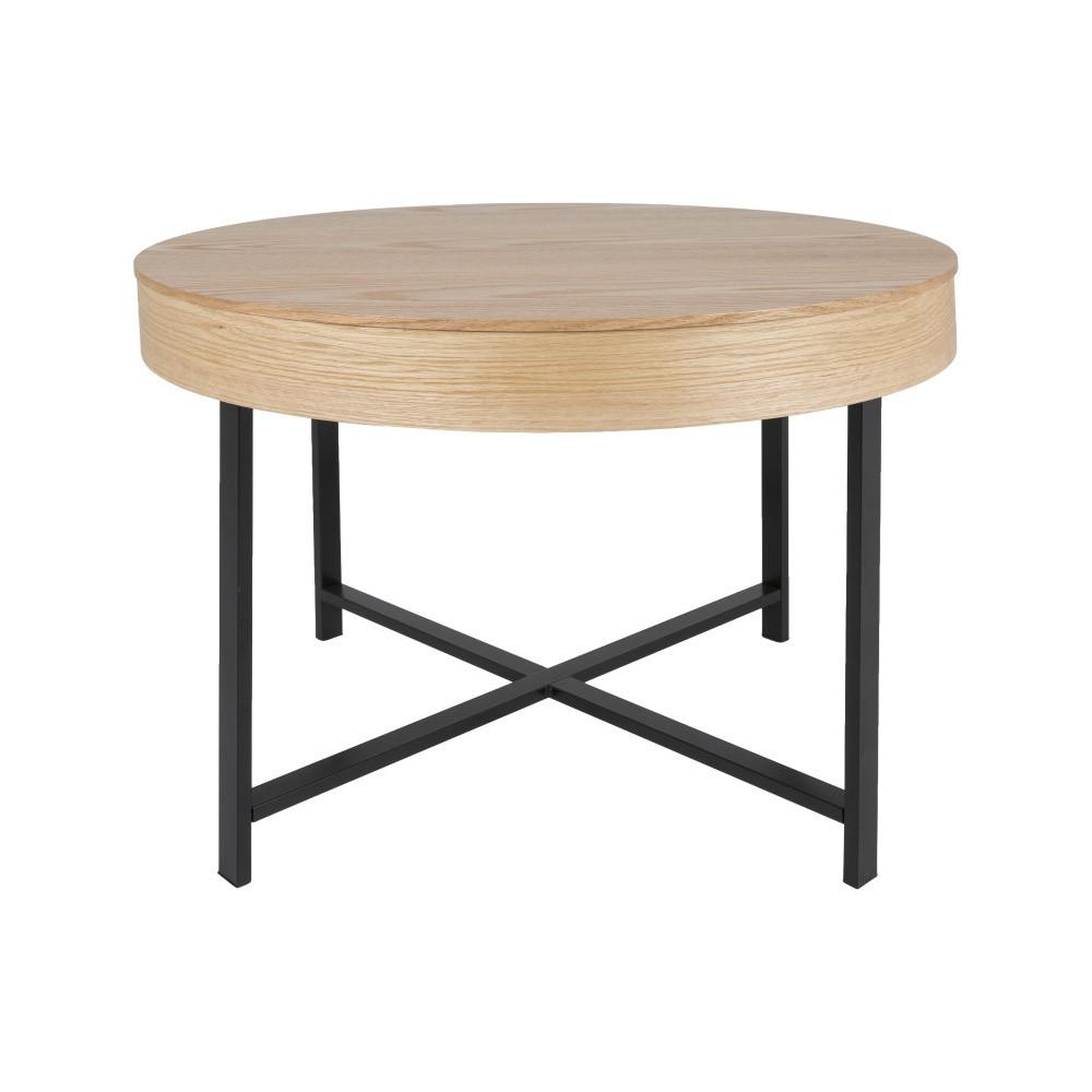 Odkladací stolík s úložným priestorom Canett Kerteminde