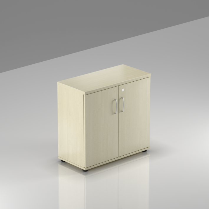 Rauman Kancelársky regál Visio, 80x38,5x76 cm, dvere 2/2 SB282 12