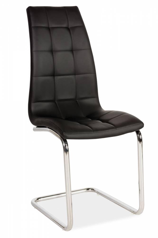 Jedálenská stolička DONA, čierna