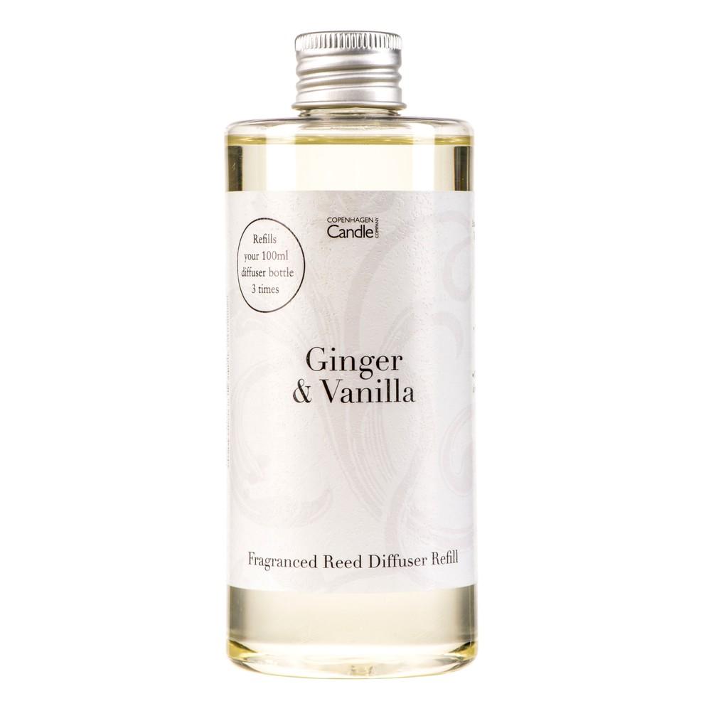 Náplň do aróma difuzéru Copenhagen Candles Ginger & Vanilla Home Collection, 300 ml