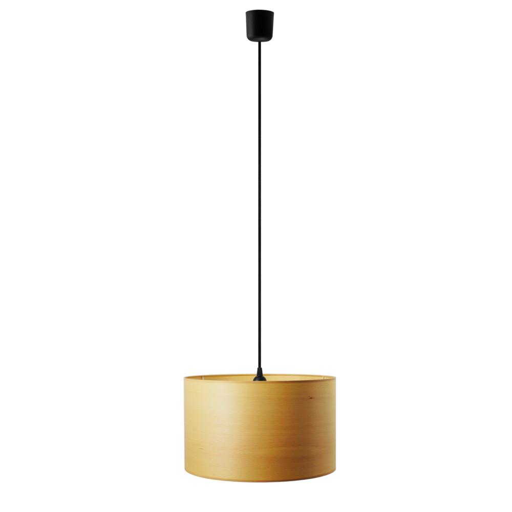 Závesné svietidlo vo farbe bieleného buka Sotto Luce Tsuru, Ø 40 cm