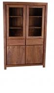Furniture nábytok  Masívna knižnica / vitrína z Palisanderu  Noubahár  120x45x180 cm