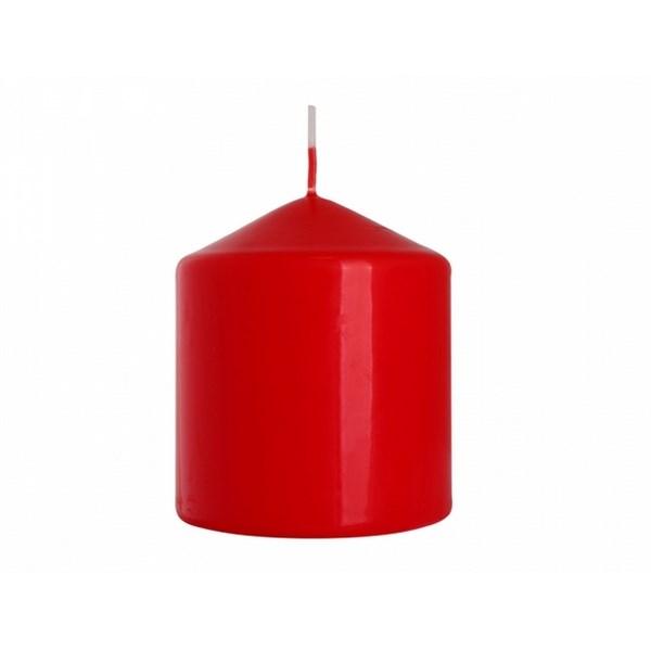 Dekoratívna sviečka Classic Maxi červená, 9 cm