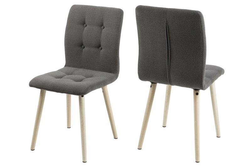 >> FRIGA 14652 jedálenská stolička, svetlošedá