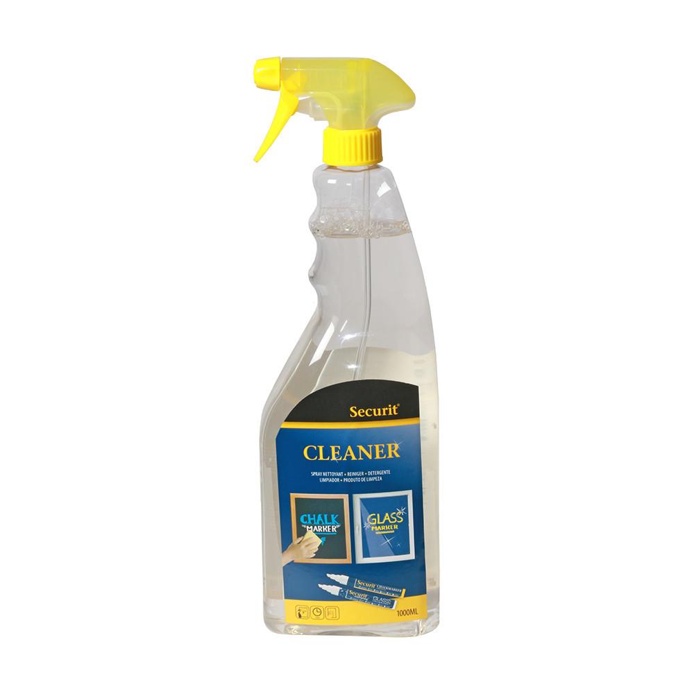 Čistiaci sprej na kriedové popisovače Securit Liquid Cleaning Spray Large, 750 ml
