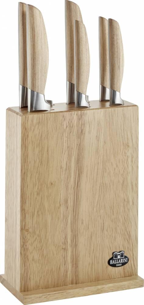 Sada nožov v bloku Tevere Ballarini 7 ks