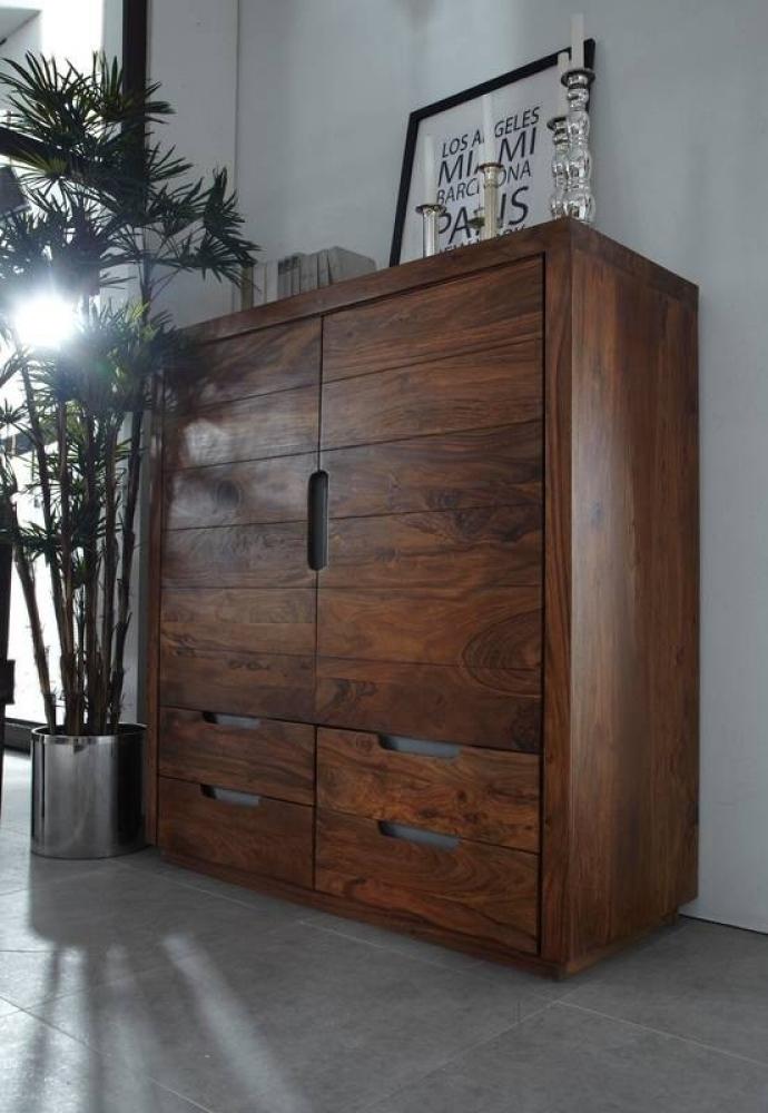 DUKE #117 Sheesham skrinka, masívne palisandrové drevo