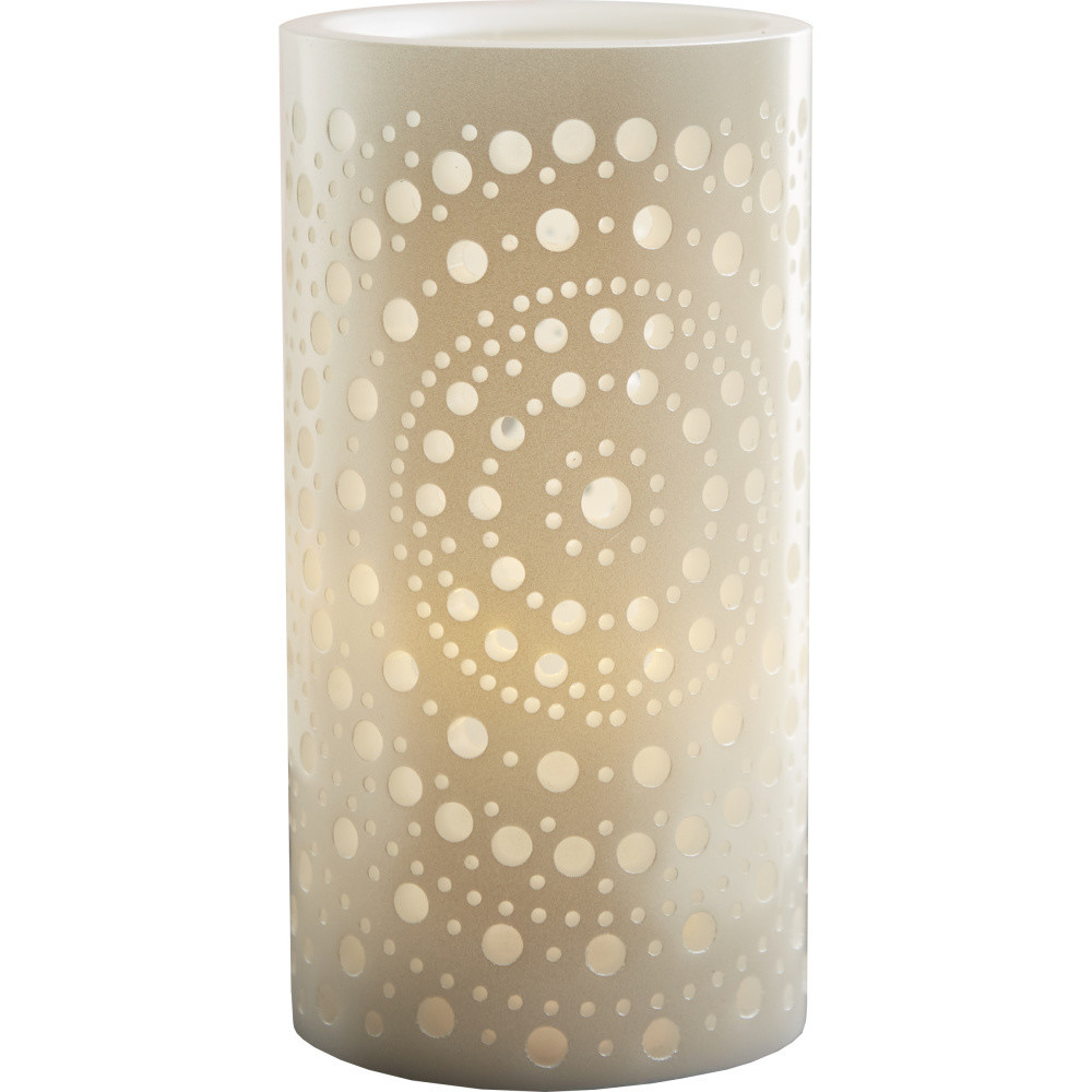 Biely LED lampáš meniaci farbu Best Season Mandy