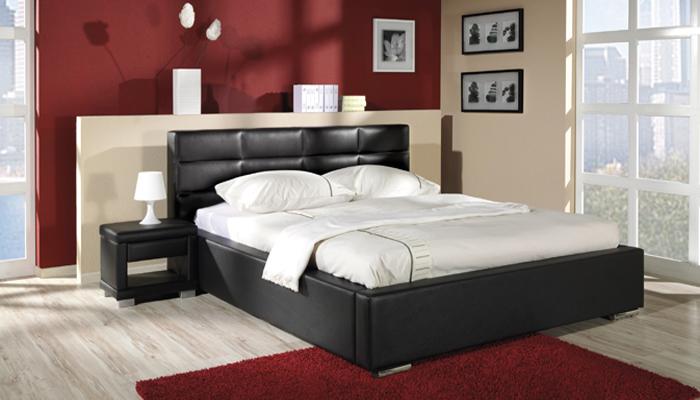 Čalúnená posteľ NIKE R s UP, 140x200 cm