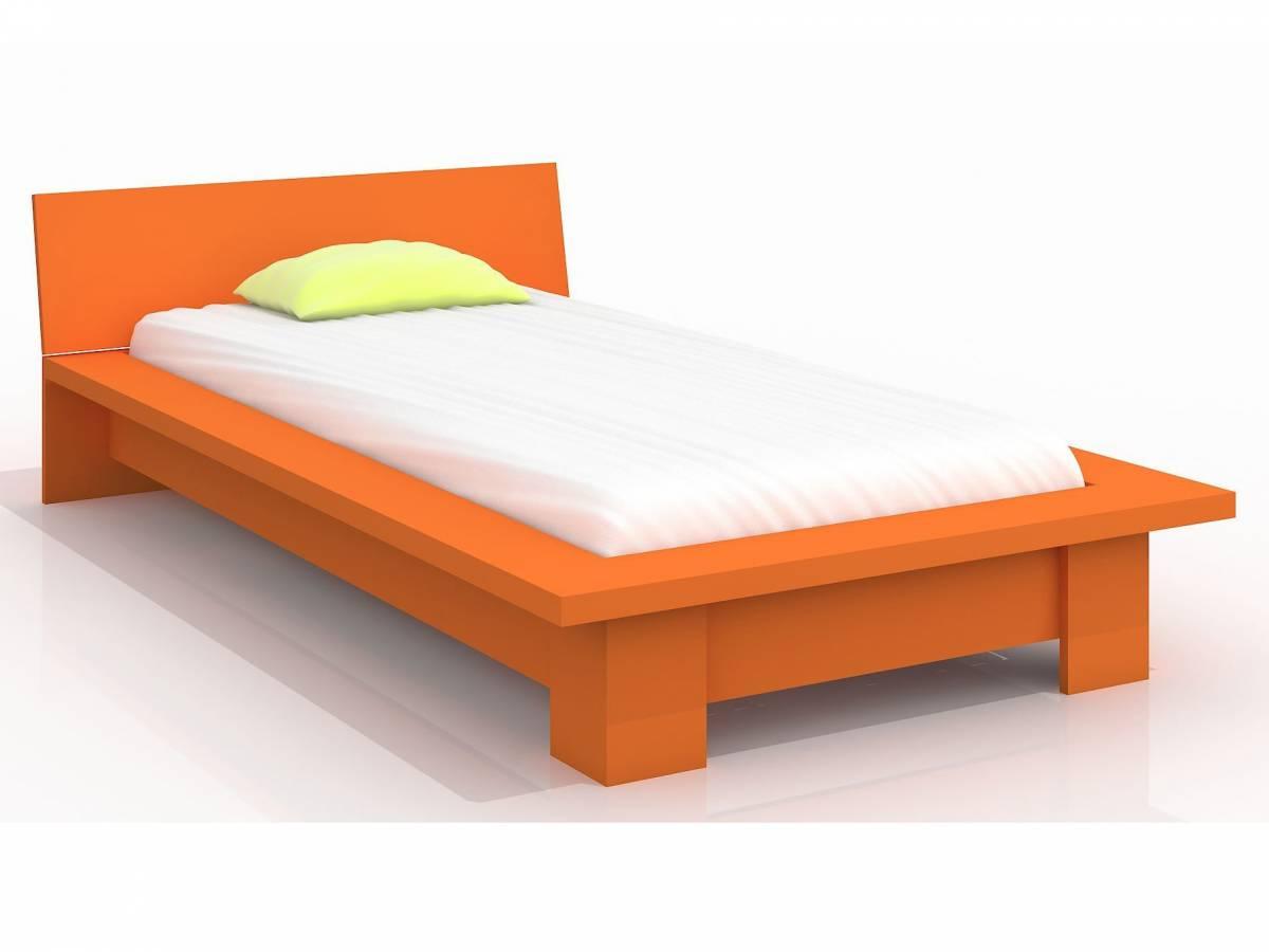 Jednolôžková posteľ 90 cm Naturlig Kids Boergund (borovica) (s roštom)