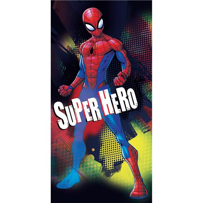 Jerry Fabrics Osuška Spiderman Hero, 70 x 140 cm