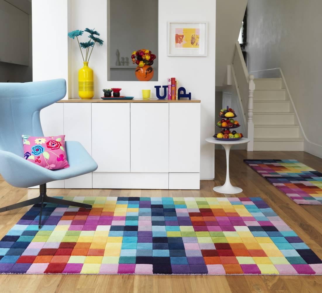 koberec FUNK - viacfarebná koberec