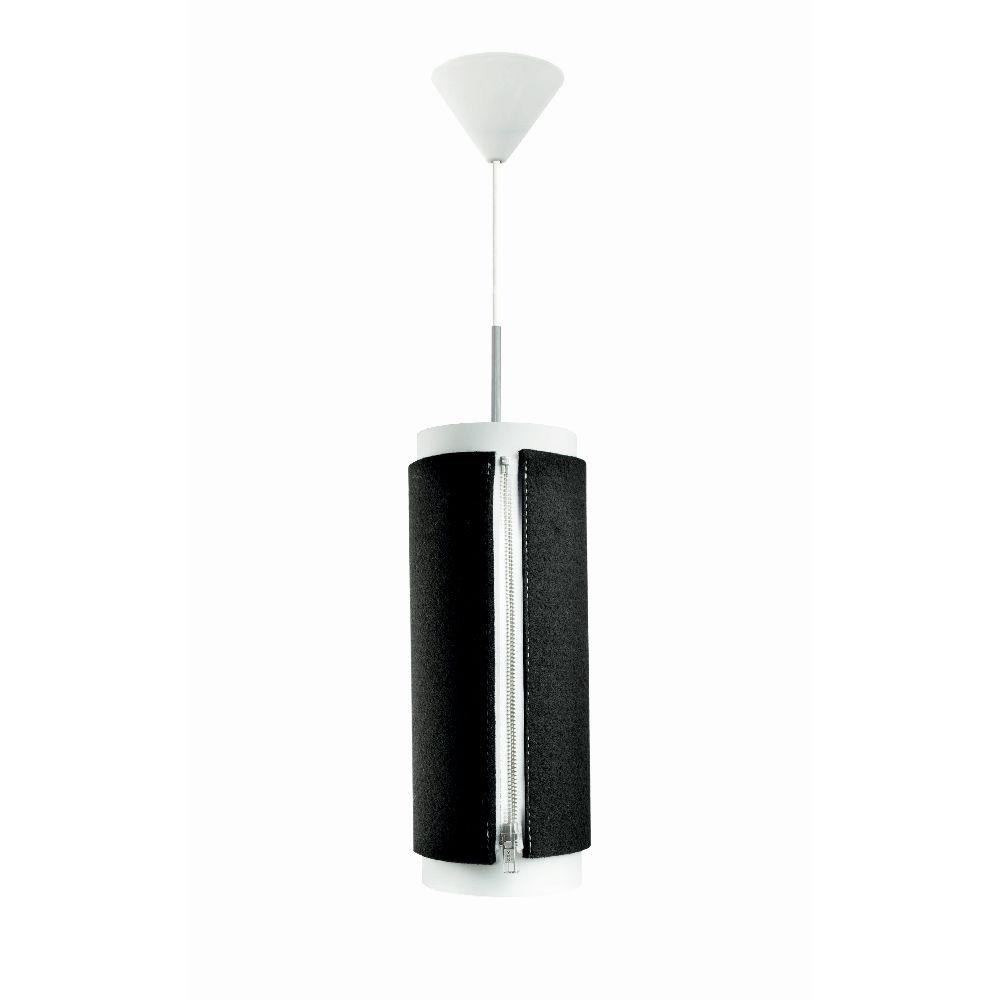 Čierne závesné svietidlo Vivorum Zip Star Large