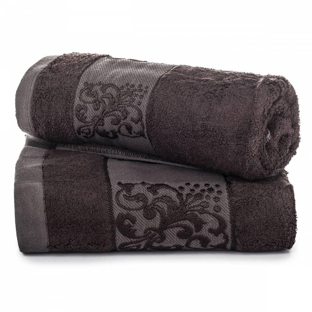 Jahu darčeková sada uterákov bambus Ankara tmavo šedá