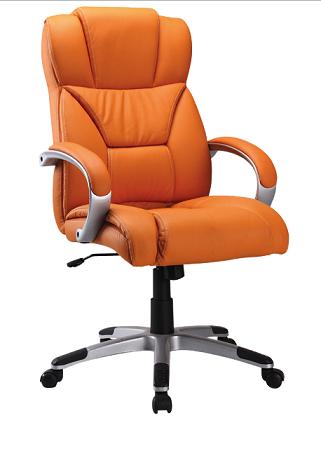 Kancelárske kreslo Q-044 oranžové