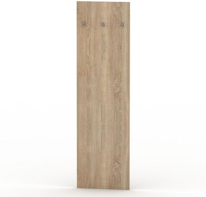 TEMPO KONDELA TEMPO ASISTENT NEW 030 vešiakový panel - bardolino tmavé