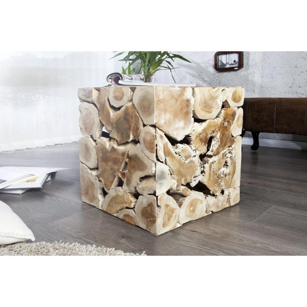 Konferenčný stolík z masívneho teakového dreva SOB