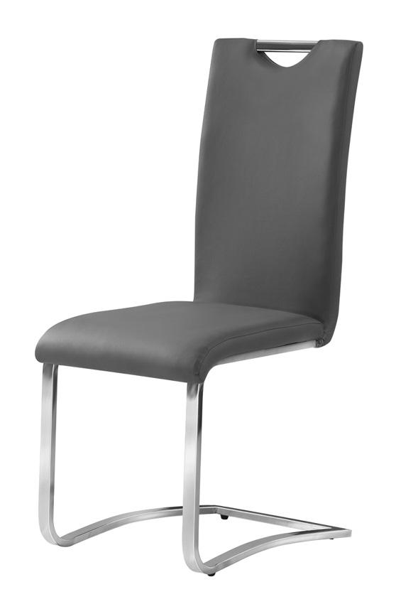 Stolička HK-790 šedá
