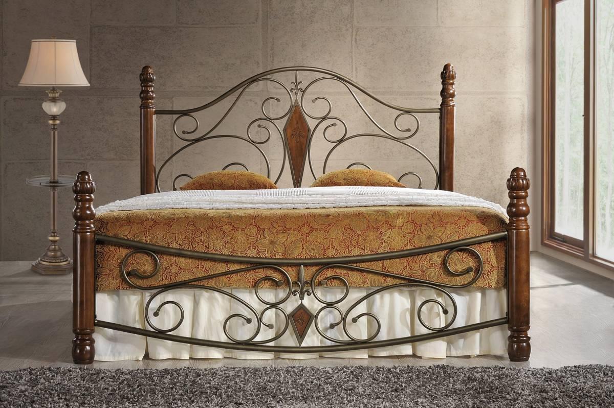 Kovová posteľ FRIGO 180