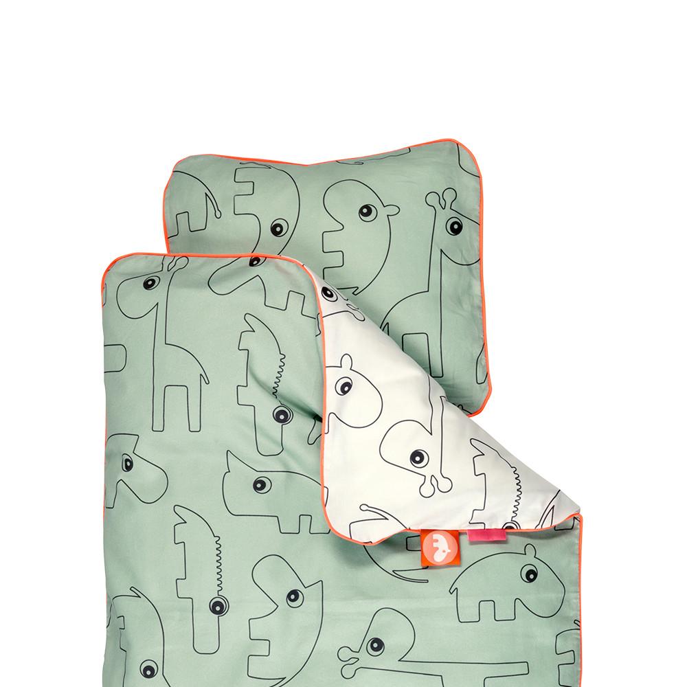 Obliečky Contour Green, 70x100cm