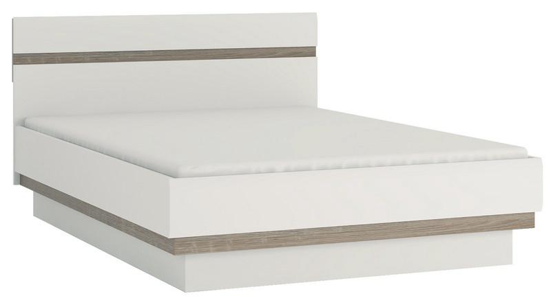 Manželská posteľ 140 cm Lynatet Typ 91