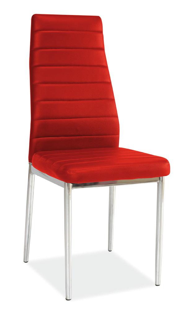 Jedálenská stolička H-261 červená