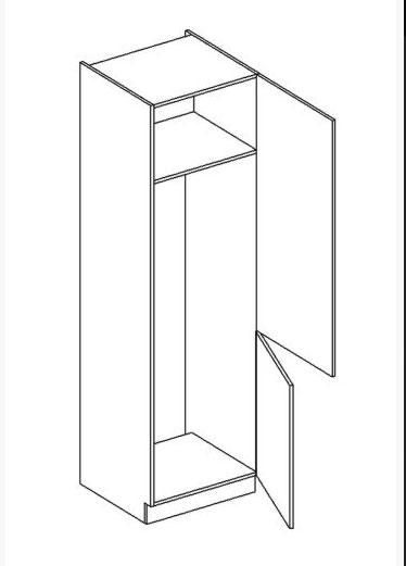 JUSTINA skrinka na vstavanú chladničku D60LO-2300 PL