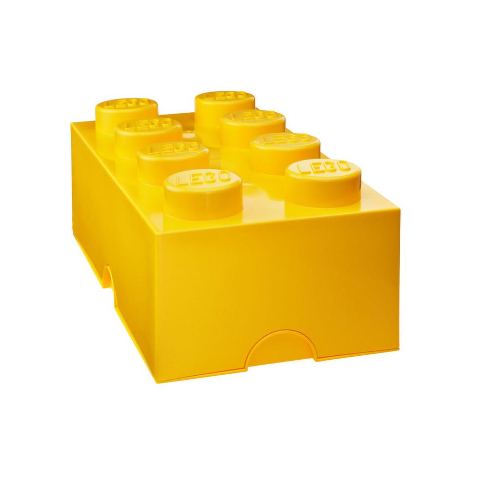 Žltý úložný box LEGO®