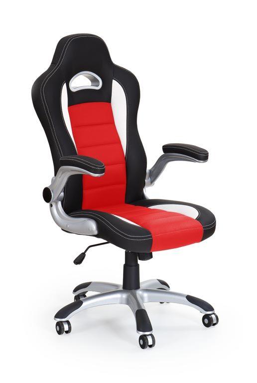 Kancelárska stolička LOTUS  červena