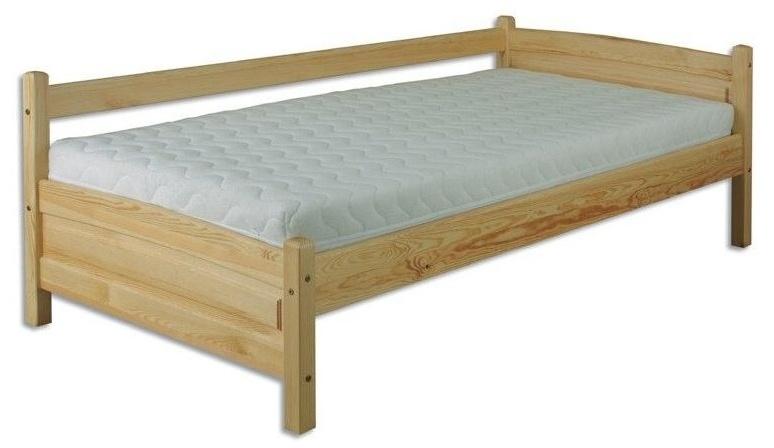 Jednolôžková posteľ 90 cm LK 132 (masív)