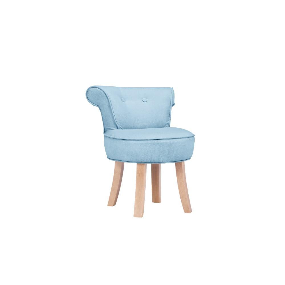 Svetlomodrá detská stolička KICOTI Sweety