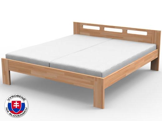 Manželská posteľ 140 cm Nela (masív)