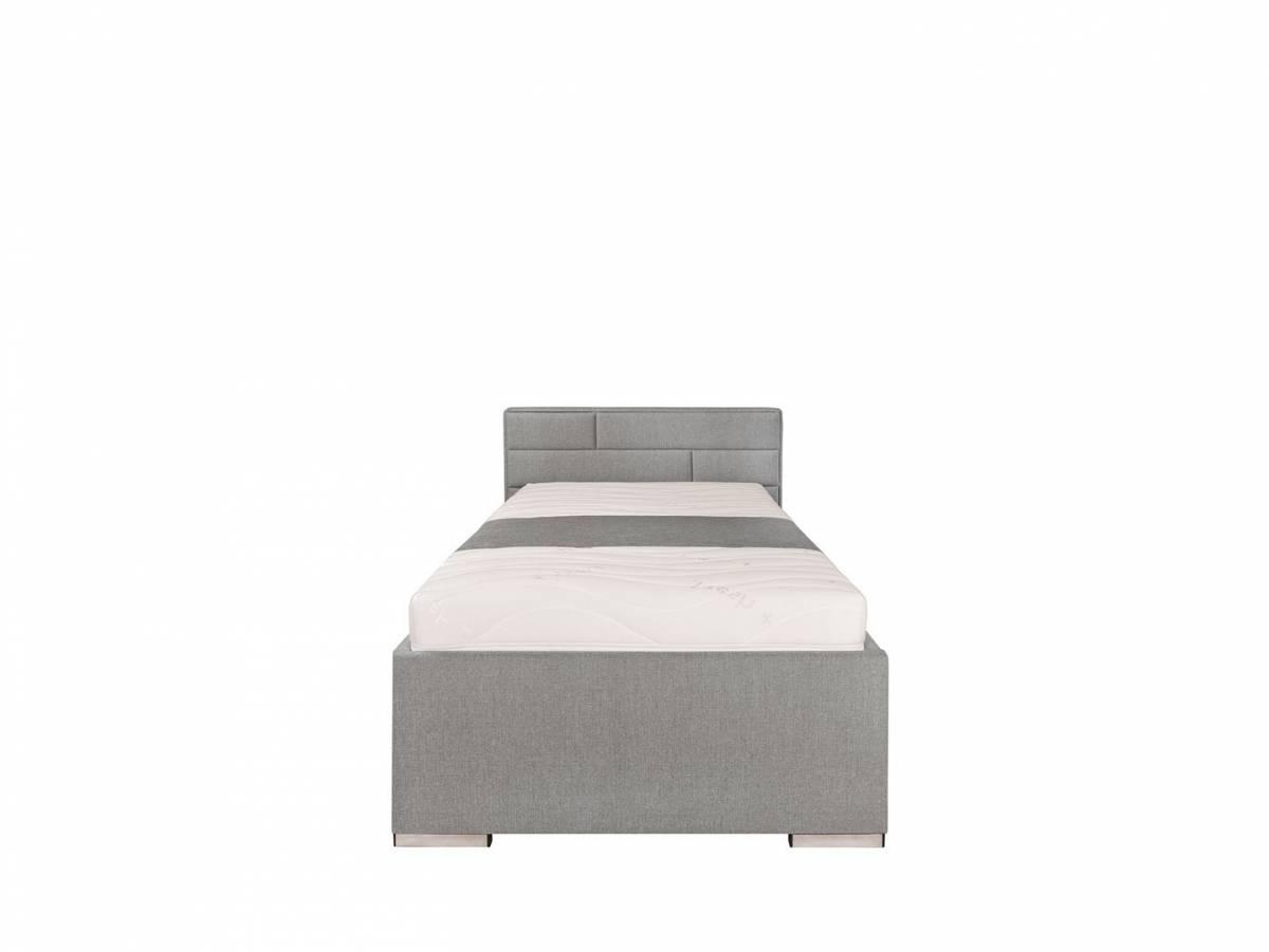 Jednolôžková posteľ 90 cm Kate Futon (sivá)