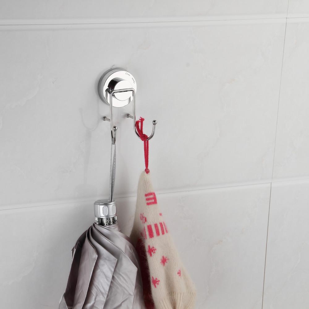 Dvojitý háčik na uteráky bez nutnosti vŕtania ZOSO Double