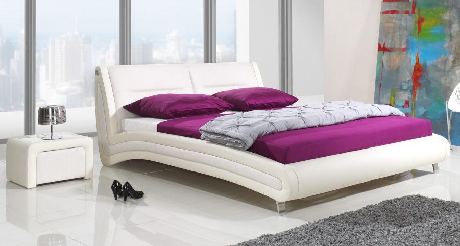 Čalúnená posteľ KALGARY, 140x200 cm 1sk.
