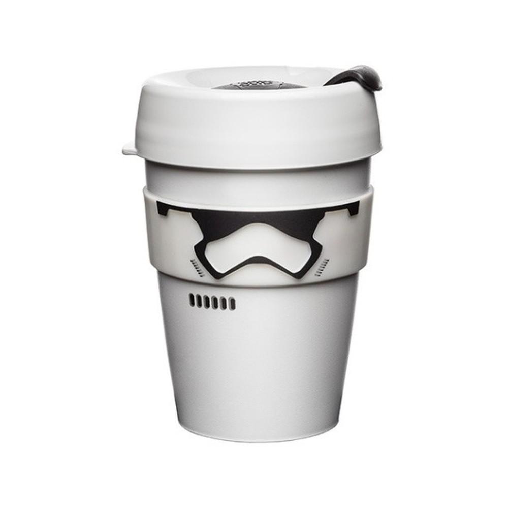 Cestovný hrnček s viečkom KeepCup Star Wars Stormtropper Brew, 340 ml