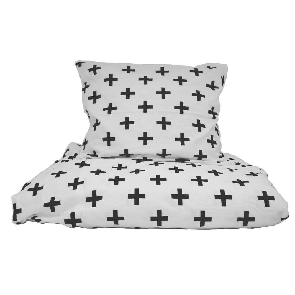 Bavlnené posteľné obliečky So Homel pluses, 160 x 200 cm
