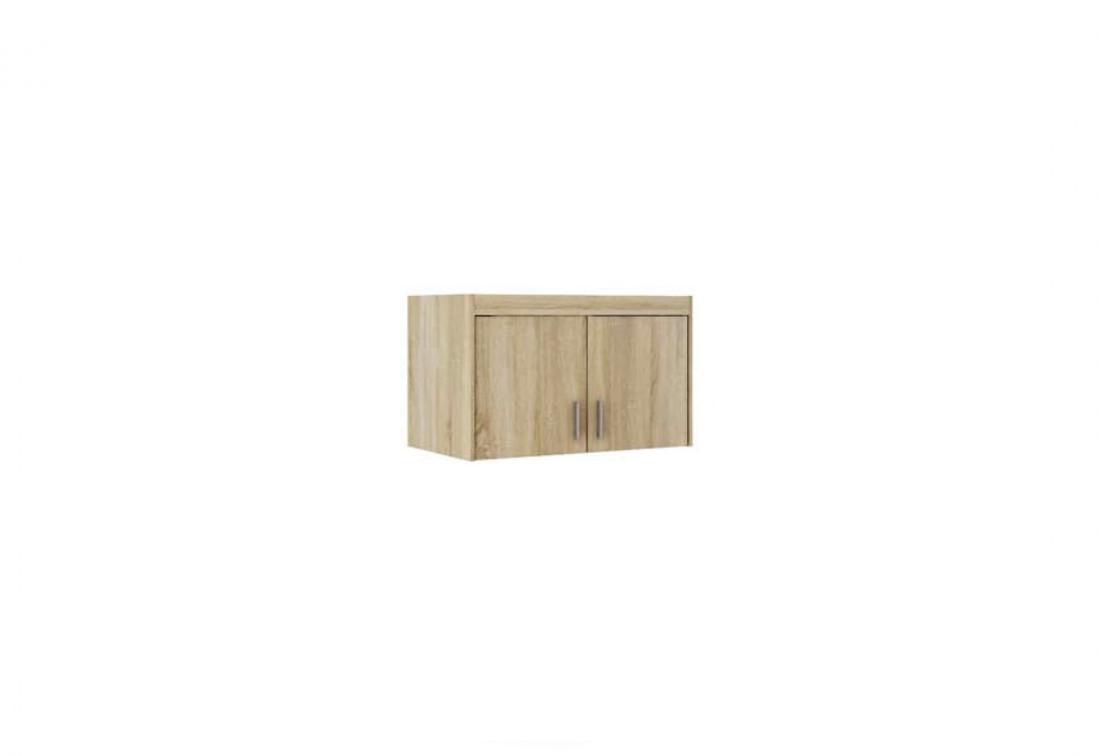 Nástavec na šatní skříň ELLENA 2D, 90x55x53, dub sonoma