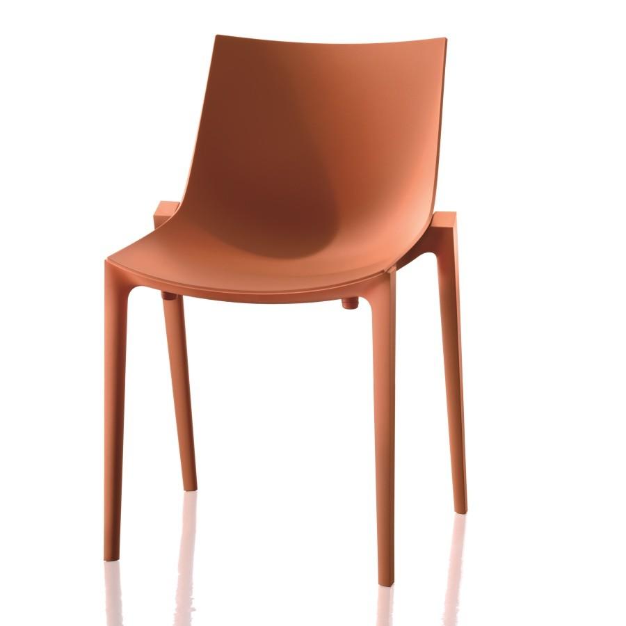 Oranžová stolička Magis Zartan