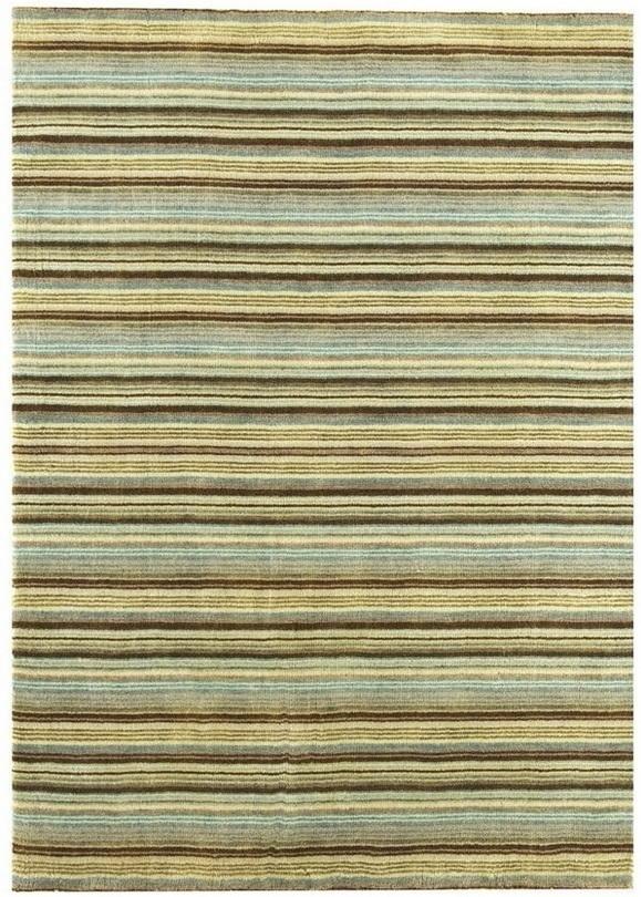 koberec JOSEPH - modrá/zelená