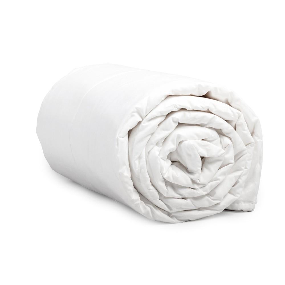 Paplón z mikroperkálu Dreamhouse Summer Quilt White, 240 x 220 cm
