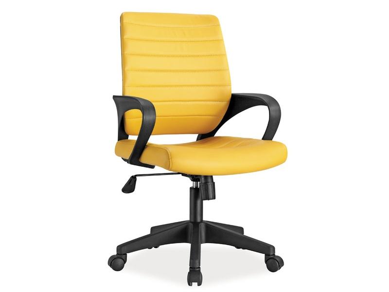 Kancelárska stolička Q-051 (žltá)