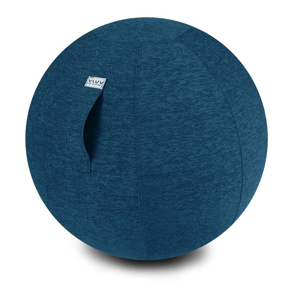 Modrá lopta na sedenie VLUV, 65 cm