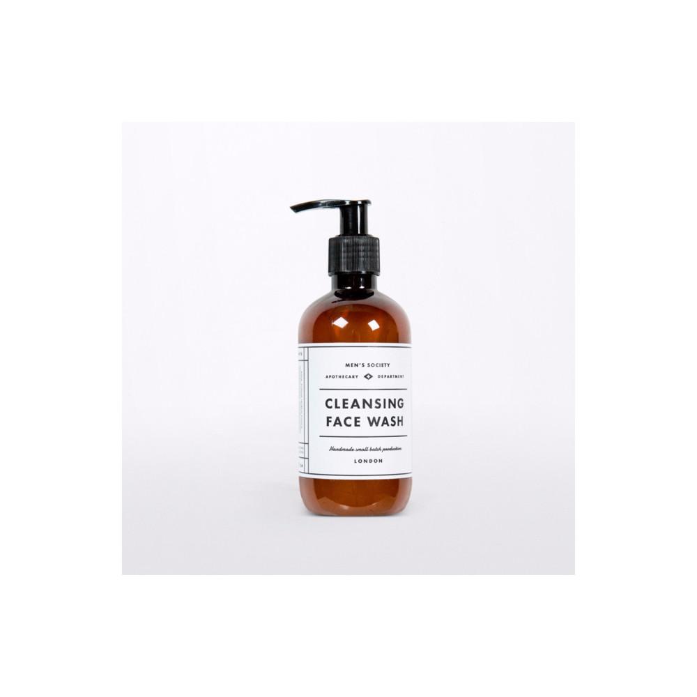 Mydlo na tvár s vôňou mäty a citrónu Men's Society, 250 ml